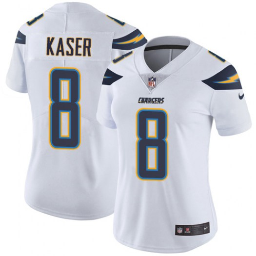 Nike Drew Kaser Los Angeles Chargers Elite White Jersey - Women's