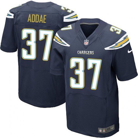 Nike Jahleel Addae Los Angeles Chargers Elite Navy Blue Team Color Jersey - Men's